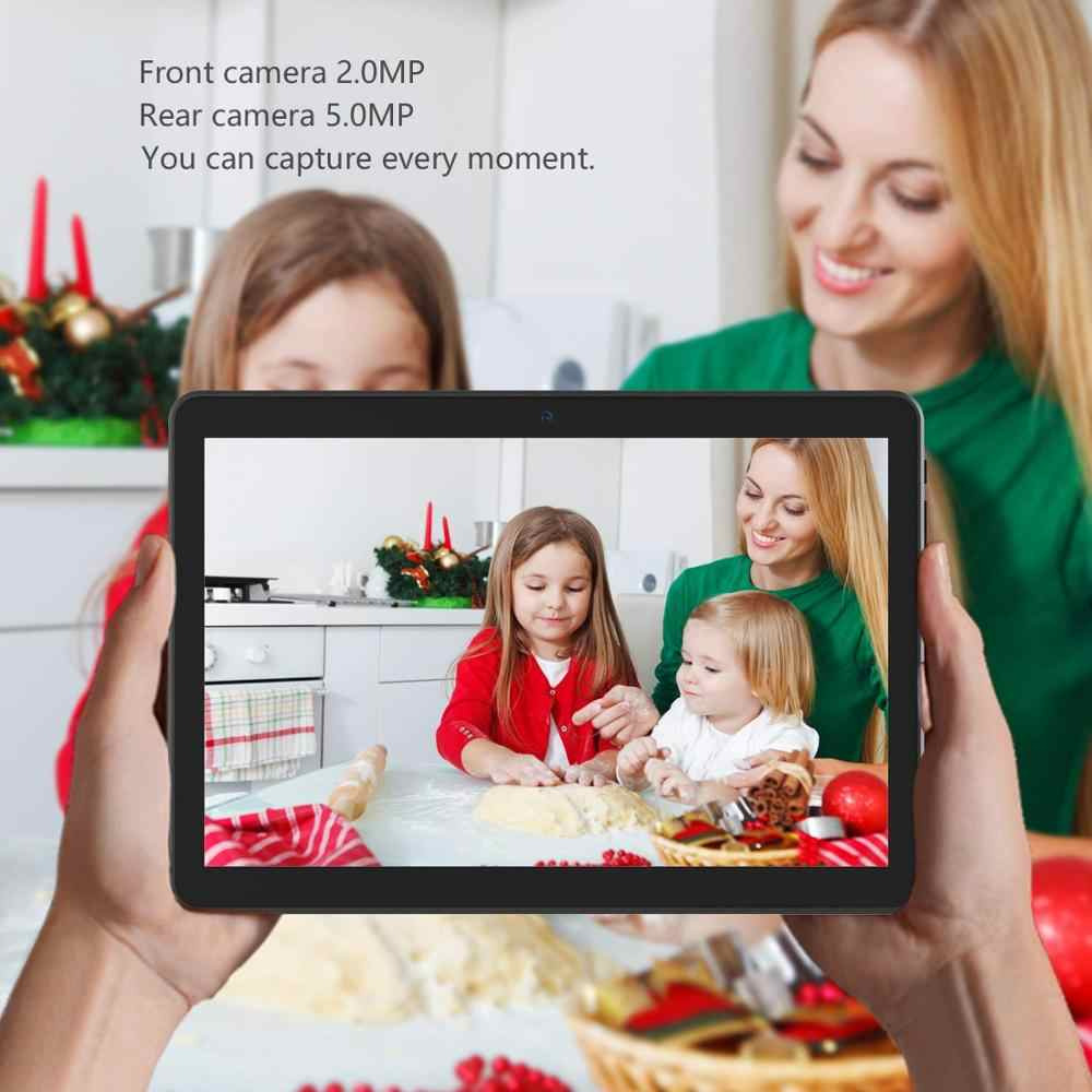 Tablet 10 Inch Android 7.0 Quad Core 4 GB RAM 32 GB ROM 1280*800 IPS Layar Tablet 3G Panggilan Telepon WIFI GPS Bluetooth Video