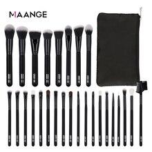 Maange 10/27 個プロメイクセットパウダーソフト人工毛財団アイシャドーブラシ化粧品ツールキット