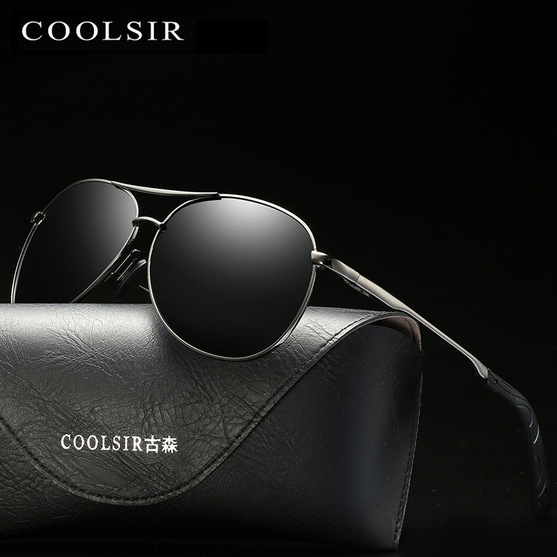Coolsir Brand New Men Polarized Sunglasses Chameleon Glasses Male Change Color Sun Glasses Day Night Vision Driver's Eyewear