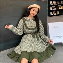 Женское цельнокроеное платье в японском Стиле Лолита на осень