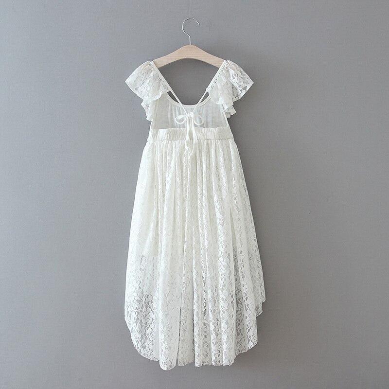 70-18-White Lace Girls Dress