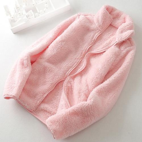 2019 New Winter Autumn Women's Soft Fleece Hoodies Jackets Fashion Casual Long Sleeve Windproof Coats S-XXL