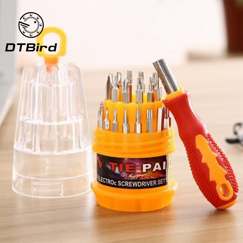 Household Multi-functional Small Screwdriver Set Mobile Phone Computer Maintenance Hardware Tool Combination
