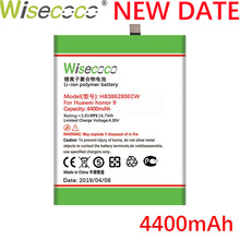Wisecoco 4400mAh HB386280ECW Battery For Huawei Honor 9 STF-L09 STF-AL10 P10 5.1 Phone Latest Production
