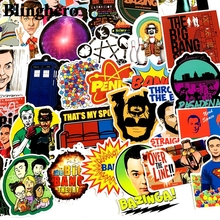 CA1079 50pcs / Set TV Series Stickers for Diy Luggage Skateboard Laptop Guitar Decals Toys Blinghero
