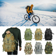 20 35L Large Waterproof Camping Backpack Military Travel Bags for Men Travel Tactical Army Molle Climbing Rucksack Hiking Bag