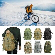 20 35L 남자에 대 한 대형 방수 캠핑 배낭 군사 여행 가방 여행 전술 육군 몰리 등산 배낭 하이킹 가방