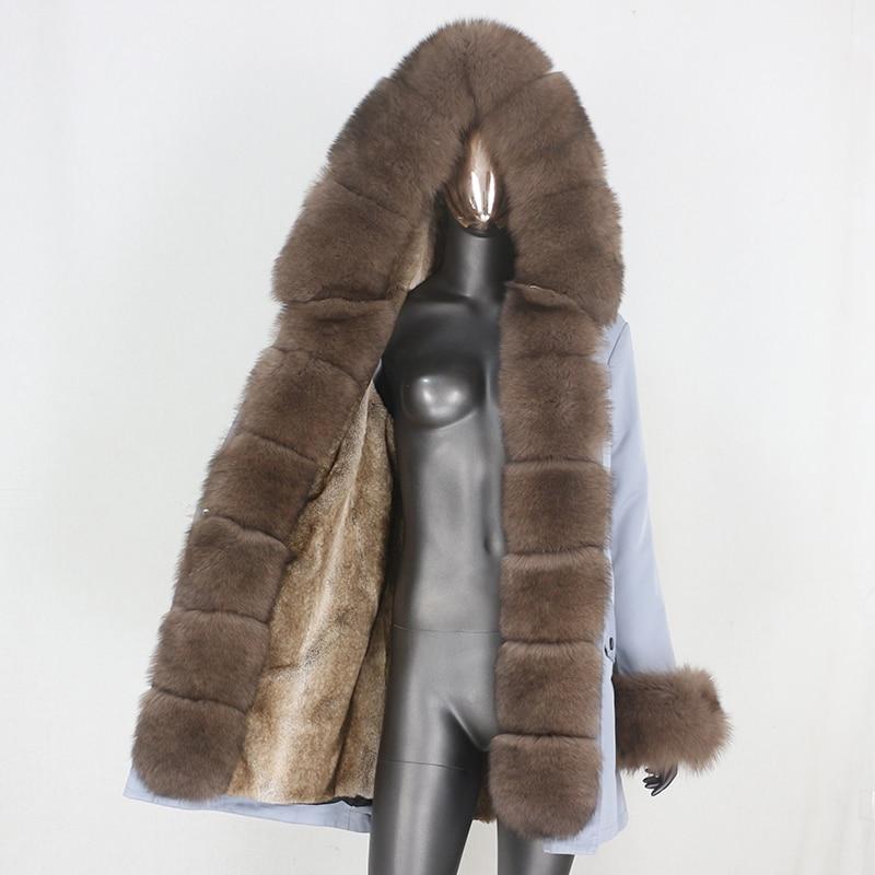 H15bbace76b614275b1cbc5459715dc38E CXFS 2021 New Long Waterproof Parka Winter Jacket Women Real Fur Coat Natural Raccoon Fur Hood Thick Warm Streetwear Removable