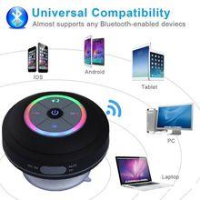 Portable Cool Shower Speaker Wireless Bluetooth Speaker Waterproof Bluetooth Shower Speaker Hands Free Car Portable Speaker
