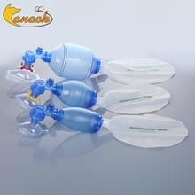 Canack sac de ressuscitateur en PVC de qualité médicale, sac respirant, 1600ml 2000ml 5 pièces