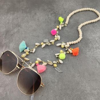 Beads Pompons Sunglasses Chain Mishmash Boho mix cb5feb1b7314637725a2e7: style 1