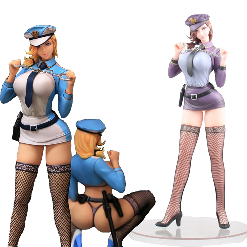 Nasty S Police Woman 2 Style Sexy Japan Anime Akiko Designed By Oda Non PVC Action Figures Toys Anime Figure Toys For Kids Gifts