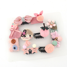 Cute 10Pcs Baby Hair Clips Set For Girls Crown Hairpins Toddler Pins Kids And Barrettes Accessories