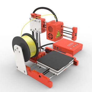FDBRO Mini 3D Ender-X1 3D Printer Upgraded Magnetic Build Plate Resume Power Failure Printing DIY KIT Mean Well Power Supply