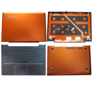 NEW For Lenovo Ideapad U330 U330P Laptop LCD Back Cover/Palmrest/Bottom Case Non-Touch Orange 3CLZ5LCLV70
