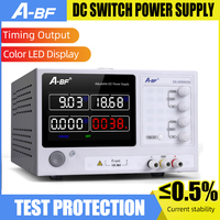 A BF Switching Lab Power Supply Unit Color Screen Adjustable DC Stabilized Source High Precision 4 Digit Power Bench Source LED