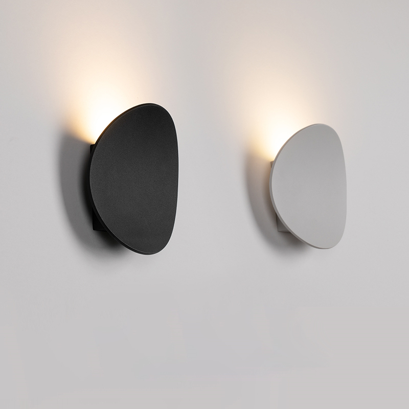 Indirect Lighting Plate Wall Sconce Lamp Indoor Wall Lamps