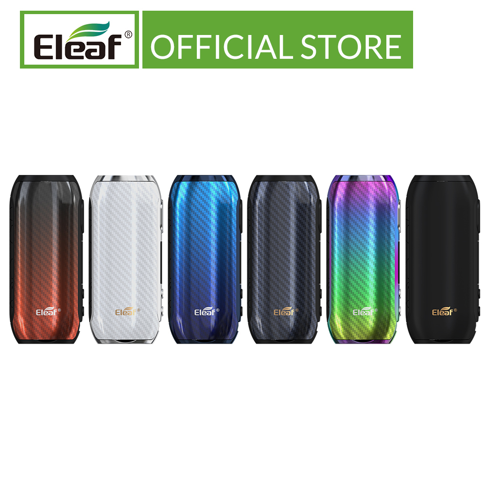 FR Warehouse Original Eleaf IStick Rim C Mod Output 80W Wattage TC/VW Modes Type-C Cable Vape Mod Electronic Cigarette