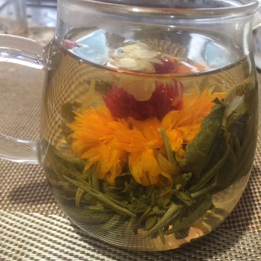 16 Kinds of Handmade Blooming Flower Tea 140g Chinese Ball blooming Flower Herbal Artistic The Tea For Health Care Products Tea 3