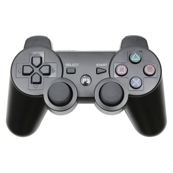 Bluetooth Wireless Gamepad for Play Station 3 with Built-In Motor Vibrator and Joystick
