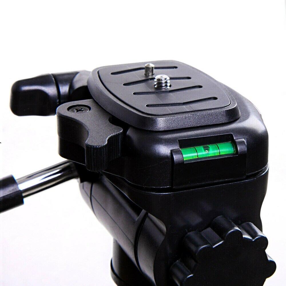 3 voies tête 61-160cm professionnel caméra trépied support pour Canon Nikon Sony DSLR caméra caméscope Mini portable trépied pour téléphone - 6