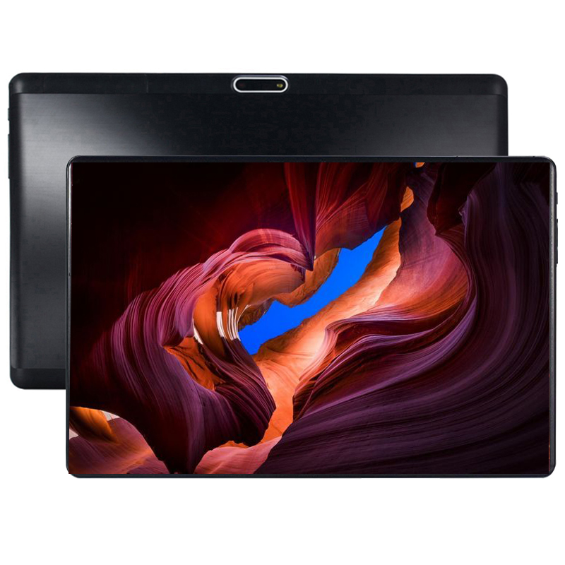 Tablets 10.1 2.5 3G Phone Call Tablets Android 9.0 8 Octa Core 6G+128GB Tablet Pc Dual SIM Card Laptop WiFi GPS Bluetooth Tab PC