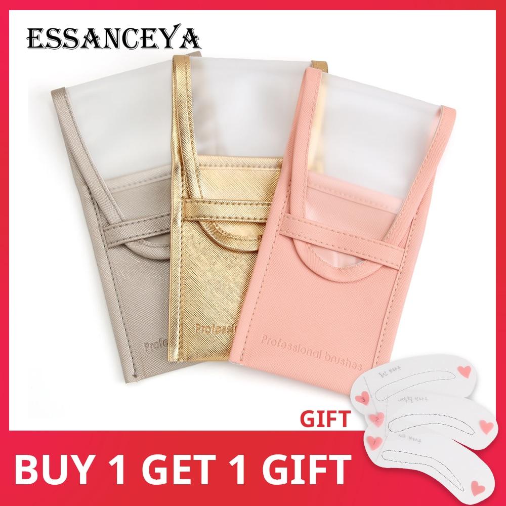 ESSANCEYA Makeup Storage font b Bags b font Brushes font b Case b font Makeup Brush
