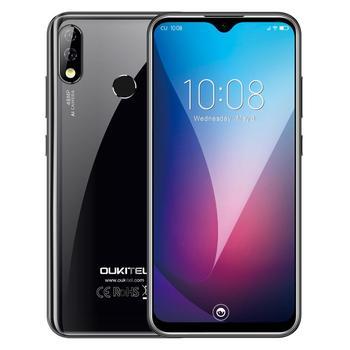 Перейти на Алиэкспресс и купить Новое поступление Смартфон Oukitel Y4800 6 ГБ ОЗУ 128 Гб ПЗУ Android 9,0 48MP AI камера 4000 мАч 6,3 ''молодой 4G мобильные телефоны Y 4800