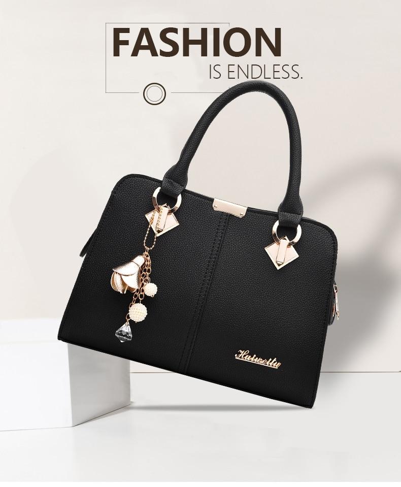 Designer Brand Bags Ladies Leather Tote Bag 2020 Luxury Ladies Handbag Wallet Fashion Shoulder Bag 0