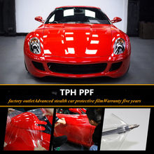 SUNICE-película de protección de pintura de coche para película de envoltura de coche a prueba de arañazos, papel de vinilo PU impermeable, color amarillo, 100%, PPF