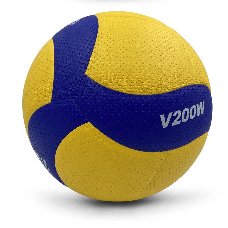 Новый бренд размер 5 PU Мягкий касаться волейбол официальный матч V200W волейбольные мячи, высокое качество Крытый Волейбольный мяч для тренир...