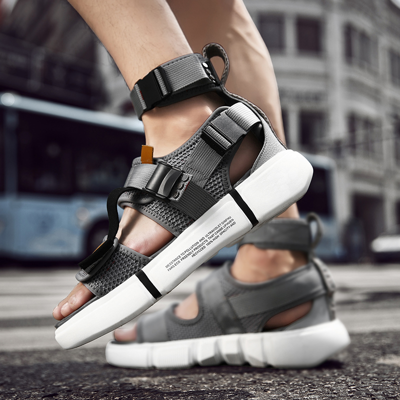 Unisex Height Increase High Top Sandals Men Gladiator Sandals Outdoor Casual  Sandals Shoes Men Sandales Homme 2020 Slides