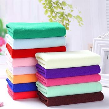 Microfiber Towel Wholesale 30*70cm Cleaning Towel Daily Supermarket Towel 25*25cm Small Gift Child Square Q1H0 image