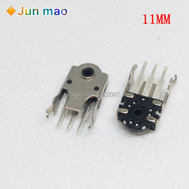 10PCS 9MM Mouse Encoder Wheel Encoder Repair Parts Schalter