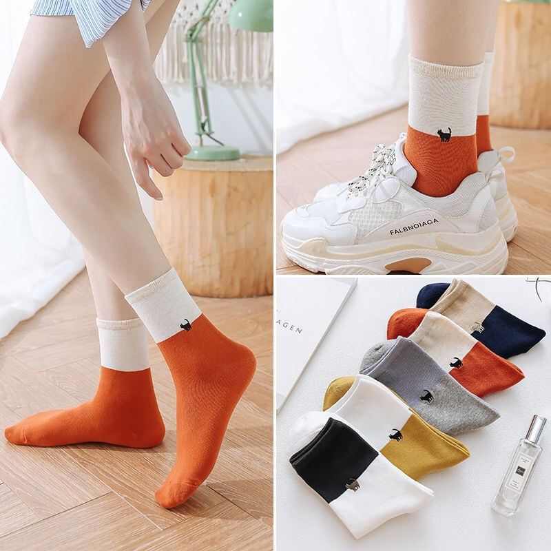 2019 Rushed Funny Socks Japan 1 Pair Of Korean Version Of The New Autumn And Winter Women's Socks Cute Fashion Female Student