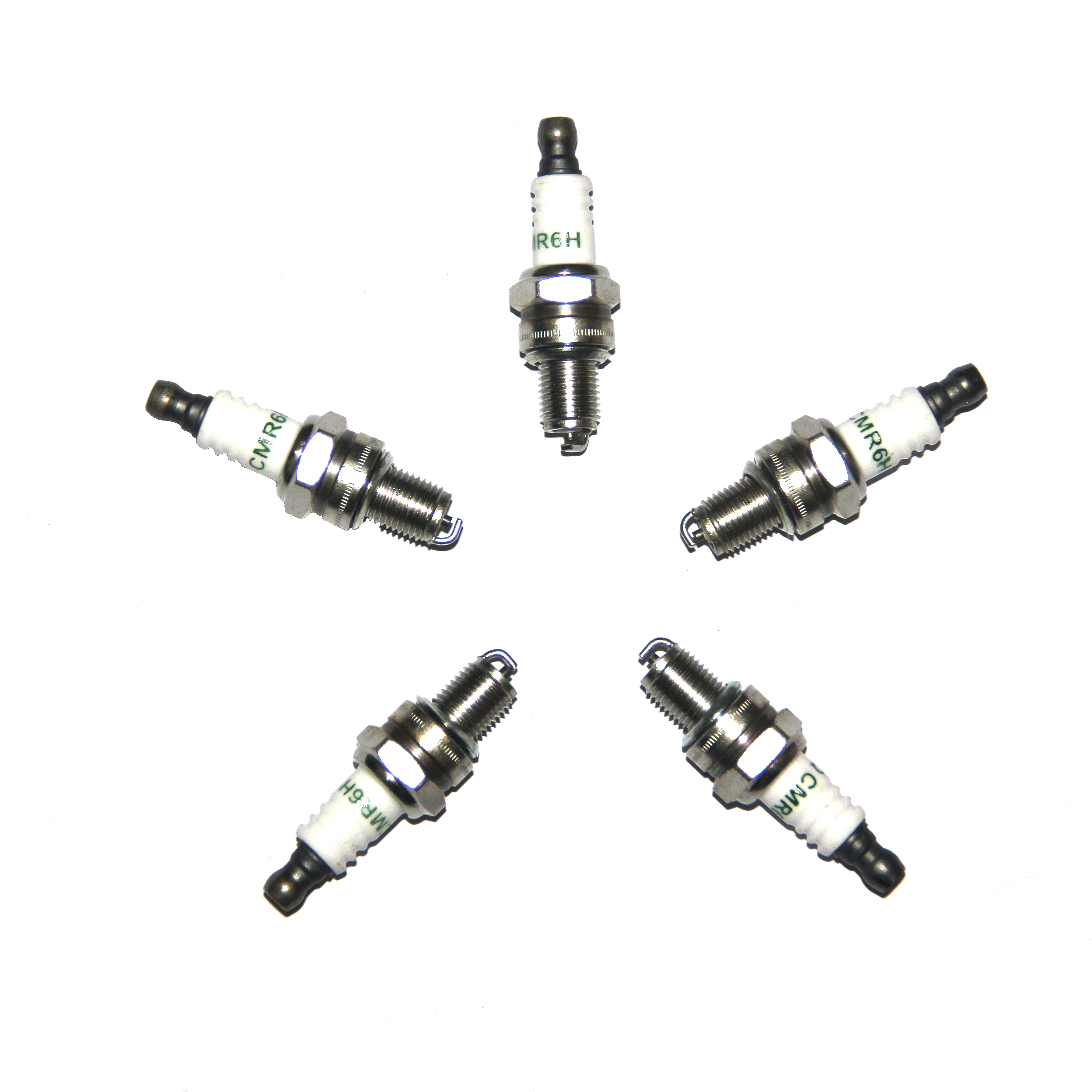 Spark Plug CMR6H For Husqvarna 226HS 130BT 150BT 170BF 180BF 350BF 370BTS 380BTS 560BFS 570BTS 580BFS 530BT 233RJ 243R 253R 150B