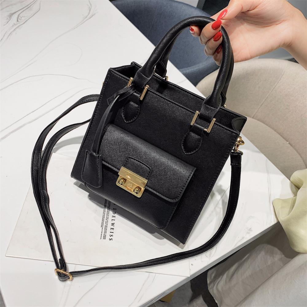 Fashion simple PU leather Ladies Messenger Bags Women travel office shoulder Bag Women's wild shopping Sac a Main Femme Handbag