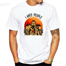 Myers Michael I Hate People Halloween T-Shirt