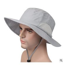 C&C Market.fashion sun hats,dry fast,fishing,quality,summer hat,beach,bucket,58cm,wide brim hat visor(China)
