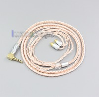 LN006473 2.5mm 3.5mm XLR Balanced 16 Core OCC Silver Mixed Headphone Cable For Sony IER M7 IER M9 IER Z1R
