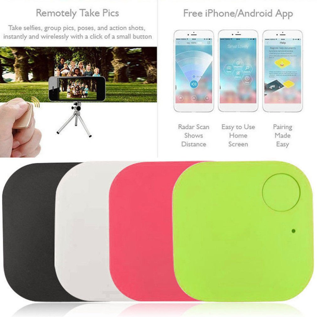 For Cell Phones Wallets Pets And Other Ancillary Objects Anti-lost Square Anti-lost Patch Smart Object Detector Alarm