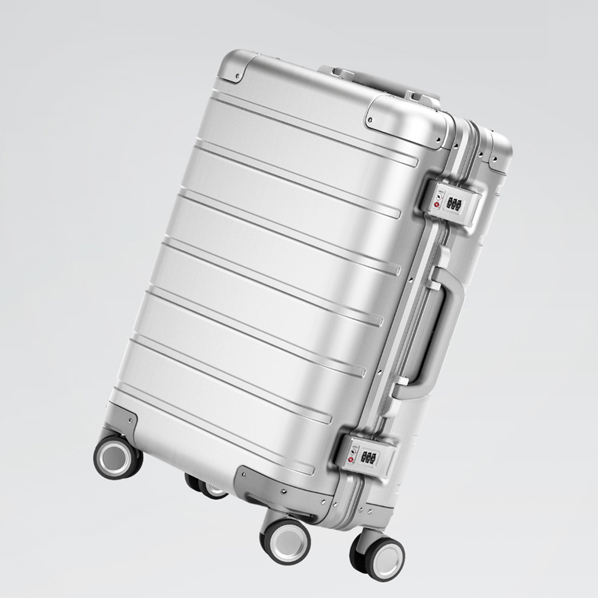 Xiaomi 90FUN Metal Travel Suitcase Luggage Carry on Spinner All-direction Wheel Suitcase 20 Inch for Men Women