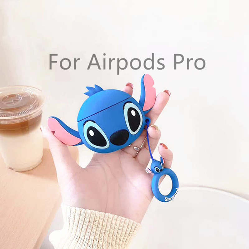 LoveRony 3D Silicone Case for AirPods Pro 9