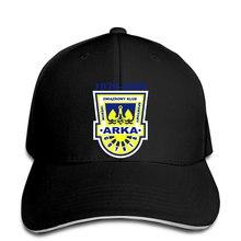 Beyzbol şapkası Polnord Arka Gdynia Ssa logo şapka doruğa kap