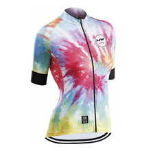 2019 Northwave Women #8217 s Professional Team Cycling Jersey MTB Bike Jersey Quick Dry MTB Cycling Short Sleeve Top Jersey Ciclismo cheap Polyester jersey shirts summer Jerseys Full Zipper Fits true to size take your normal size Broadcloth Anti-Wrinkle Breathable