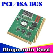Kebidumei AK PCI & ISA האם בודק אבחון תצוגת 4 ספרות מחשב מחשב אמא לוח Debug הודעה כרטיס Analyzer