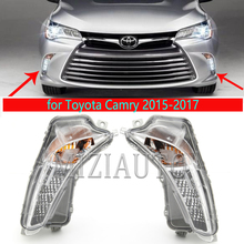 LED Fog Lights For Toyota Camry 2015 2019 foglights DRL headlight fog light foglamps for Toyota ASV5 headlights for cars