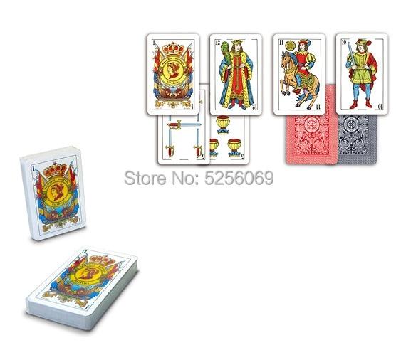 MAESTROSNAIPEROS®Deck Spanish Spanish Card 50 Letters