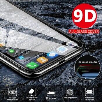 Vidrio Protector de pantalla 9D para Xiaomi Mi8 Mi9 Pro Mi10 Lite Mi9 SE película de vidrio templado Premium para Xiaomi 9Pro 5G