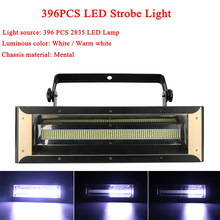LED Stroboscope Disco Lights DMX512 LED 200W Strobe Professional Stage Music Equipment DJ Flash White/Warm White Optional(China)